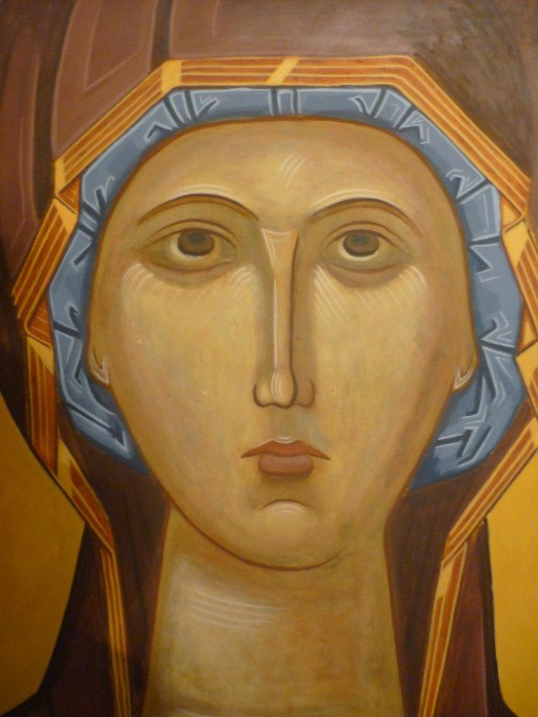 Лик Пресвятой Богородицы
