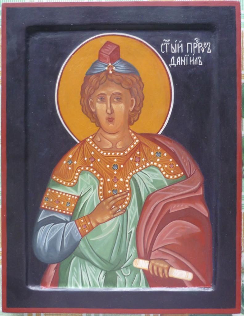 Икона Святого Пророка Даниила, размер 21 на 27 см.